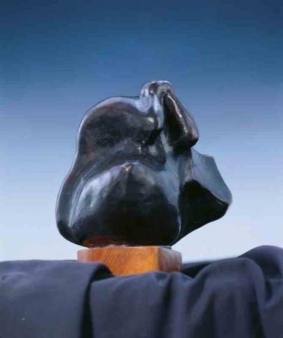 il pentimento - bronzo - 1997